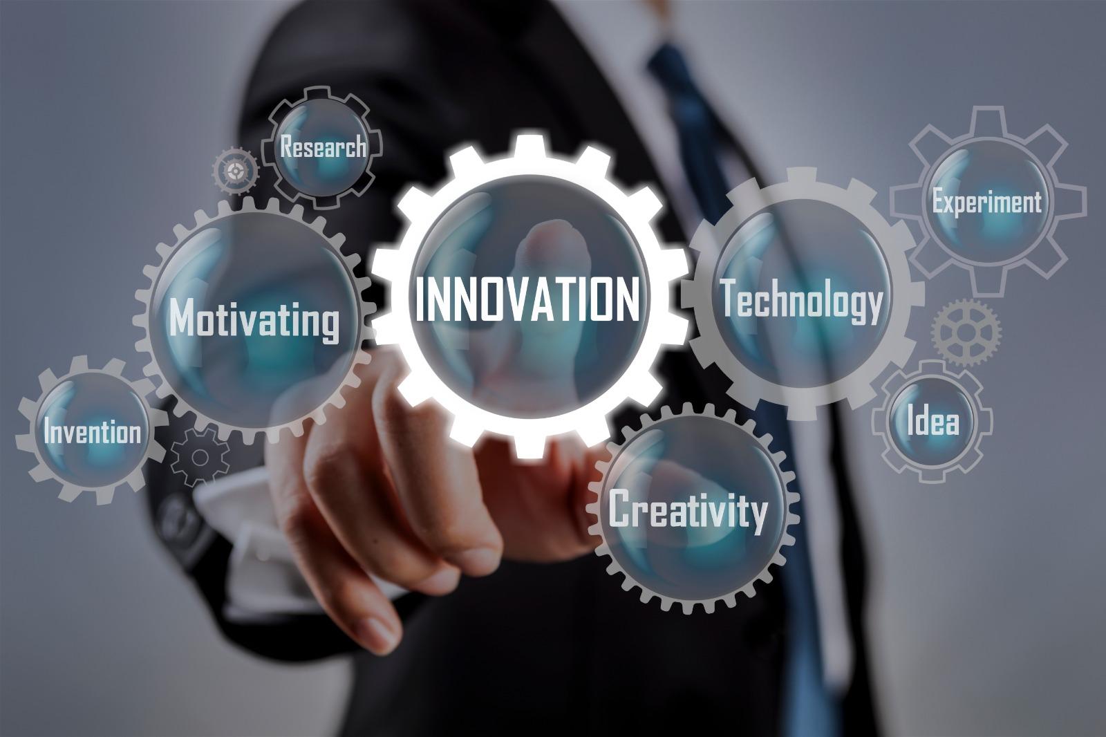 Sfondo innovazione e tecnologia